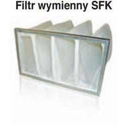 SFK 600x300 Wymienny Filtr wkład do FBK * Wymienny element filtrujący do kaset filtrujących typu FBK z podłączeniem prostokątnym