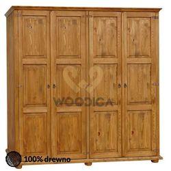 Woodica Szafa hacienda 10 [4d (2+2)]