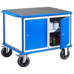 Wózek warsztatowy MOBILE, 2 szafki, 875x1000x700 mm, 28011