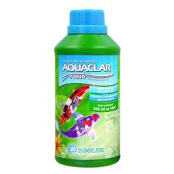 Zoolek aquaclar pond plus oczko wodne 500ml na mętną wodę klaruje