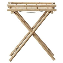 Stolik bambusowy Mandisa 68 cm