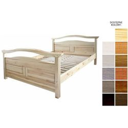łóżko drewniane rotterdam 180 x 200 marki Frankhauer