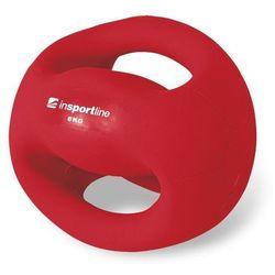 Piłka lekarska z uchwytami Grab Me 6 kg Insportline - 6 kg