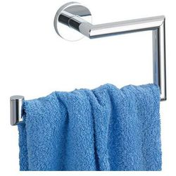 Pojedynczy wieszak na ręczniki REVELLO, Power-Loc - stal chromowana, WENKO (4008838179635)