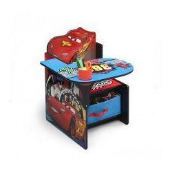 Biurko, Stolik, Pojemnik na zabawki 3w1, DISNEY CARS z kategorii Biurka