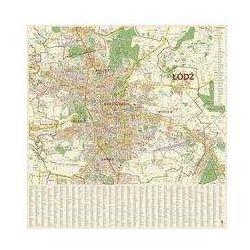 Mapa ścienna Łódź 1:20 000