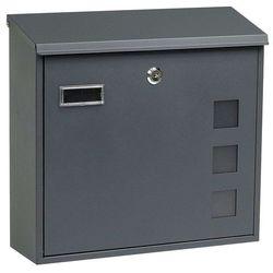 stalowa skrzynka pocztowa bk.703.g.am marki Richter czech