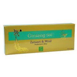 Ginseng 500 żeńszeń & miód 10 x 10ml od producenta Ginseng polska