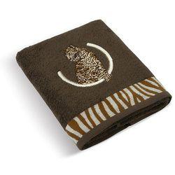 Bellatex  ręcznik lampart ciemnobrązowy, 50 x 100 cm , 50 x 100 cm