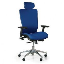 Krzesło biurowe lester f, niebieski marki B2b partner