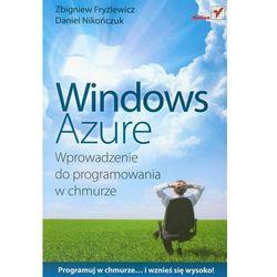 Windows Azure. Wprowadzenie do programowania w chmurze, pozycja wydawnicza