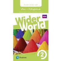 Wider World 2 MyEnglishLab & eBook Students´ Access Card neuveden