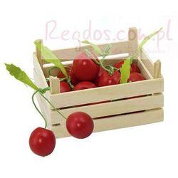 Owoce w skrzynce, wiśnie, 6 elementów. (skrzynka narzędziowa zabawka)