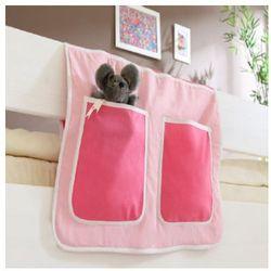 Ticaa kindermöbel Ticaa organizer do łóżek piętrowych kolor różowy (4250393809575)