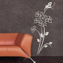 kwiaty motyl 1236 szablon malarski