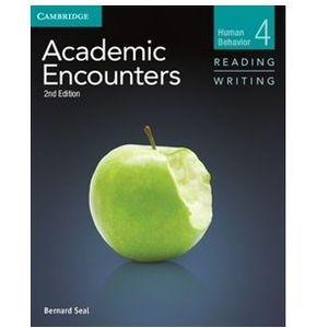 Academic Encounters: Human Behavior. Reading & Writing. Podręcznik + CD (2012)