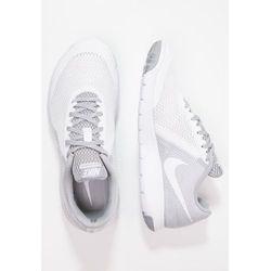 Nike Performance FLEX EXPERIENCE RUN 5 Obuwie do biegania startowe white/wolf grey - produkt dostępny w Zalan