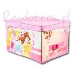 Pudełko Księżniczki Disney Princess zamykane, towar z kategorii: Pojemniki na zabawki
