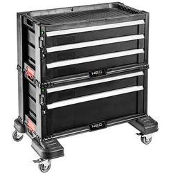 Neo 84-226 szafka narzędziowa, 5 szuflad na kołach