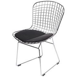 D2.design Krzesło dziecięce harry junior czarna po modern house bogata chata