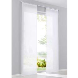 """Zasłona panelowa """"Ronja"""" (1 szt.) bonprix biały, kolor biały"""