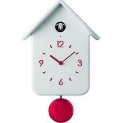 Zegar z kukułką QQ biały (8008392287629)