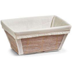 Zeller Koszyk na chleb, pieczywo, owoce, babmus - 19x14x9,  (4003368180229)