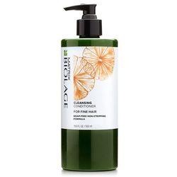 Matrix  biolage cleansing conditioner fine hair - odżywka myjąca do cienkich włosów - 500ml, kategoria: odżywianie włosów