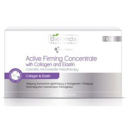 Bielenda professional meso med program active firming concentrate with collagen and elastin aktywny koncentrat ujędrniający z kolagenem i elastyną