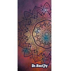 Dr.bacty xl mandala szybkoschnący ręcznik treningowy - mandala