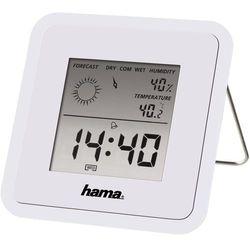 Stacja pogody Hama Biała (TH50) Szybka dostawa! Darmowy odbiór w 20 miastach! (4047443184351)