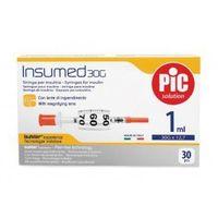 Astrana s.p. a. Strzykawki insulinowe insumed 1ml g30x12,7mm (30szt.)
