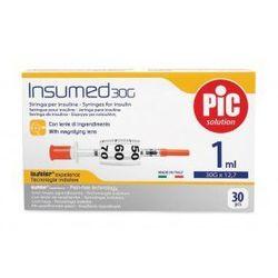 Strzykawki insulinowe insumed 1ml g30x12,7mm (30szt.) wyprodukowany przez Astrana s.p. a.