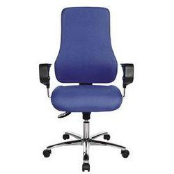 Topstar Obrotowe krzesło operatora, z podłokietnikami,wys. oparcia 600 mm