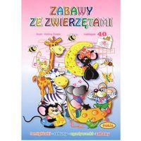 ZABAWY ZE ZWIERZĘTAMI PASJA 9788364773792 + zakładka do książki GRATIS