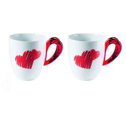 Guzzini - love - kpl. 2 kubków, czerwony - czerwony (8008392290087)