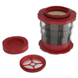 Cafflano kompact coffee maker czerwony