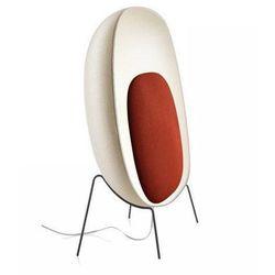 Foscarini Lampa podłogowa stewie biało-czerwona