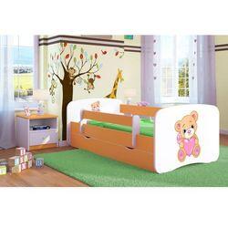 Łóżko dziecięce Kocot-Meble BABYDREAMS MIŚ Z SERCEM Kolory Negocjuj Cenę.
