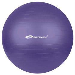 Piłka gimnastyczna FITBALL śr.75 cm + pompka Spokey (fioletowa) - oferta [d5dc6c243515c7a8]
