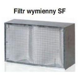 SF 600x350 Filtr wkład do FB* Wymienny element filtrujący do kaset filtrujących typu FB z podłączeniem prostokątnym