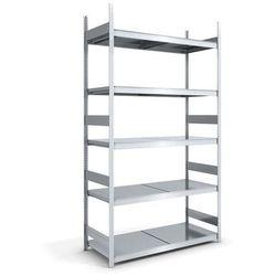 Hofe Regał wtykowy o dużej pojemności z półkami stalowymi,wys. 3000 mm, szer. półki 1500 mm