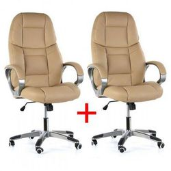 B2b partner Krzesło biurowe kevin 1+1 gratis, beżowy