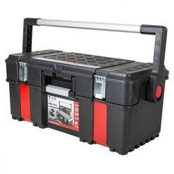 Plastikowa walizka z wiekiem otwieranym na nóżkę marki B2b partner