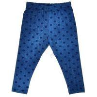 Legginsy dziewczęce Chrisma - Jeans, kolor niebieski