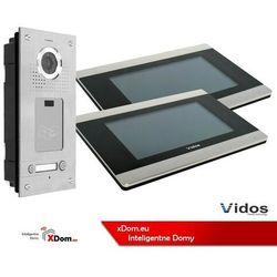 Vidos Zestaw dwurodzinny wideodomofonu z czytnikiem kart rfid s562a_m903s