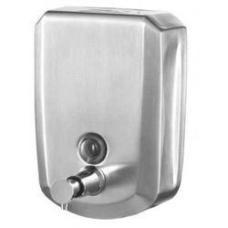 BISK Dozownik do mydła w płynie 500 ML stal szczotkowana