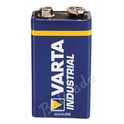 1x bateria alkaliczna Varta Industrial 6LR61/9V 4022 (folia OEM) (bateria elektryczna)