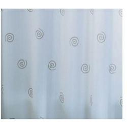 Zasłonа CIRCLES, siwy, 180 x 200 cm