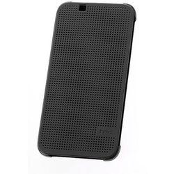 Etui Dot View HTC HC M140 LITE Szare do HTC Desire 620 Dual SIM - Szary ()